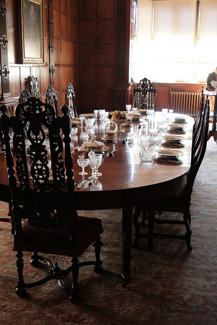 Jacobean Dining Table with Chairs