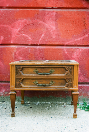 Abandoned End Table