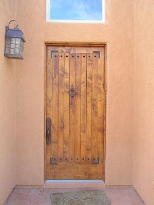 Alder front door.