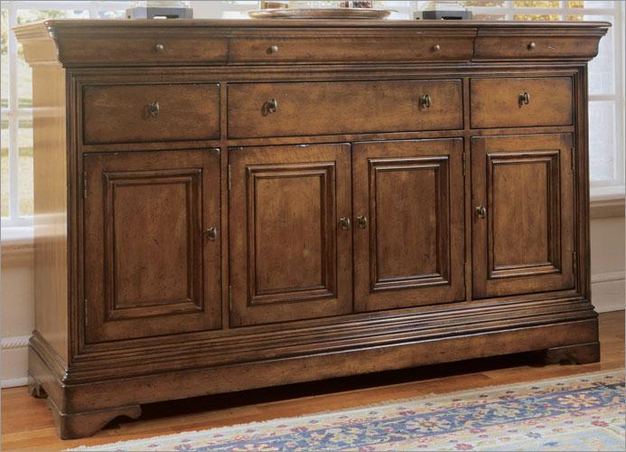 Dark Birch Cabinet