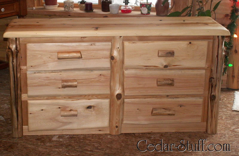 Wonderful Cedar Log Dresser
