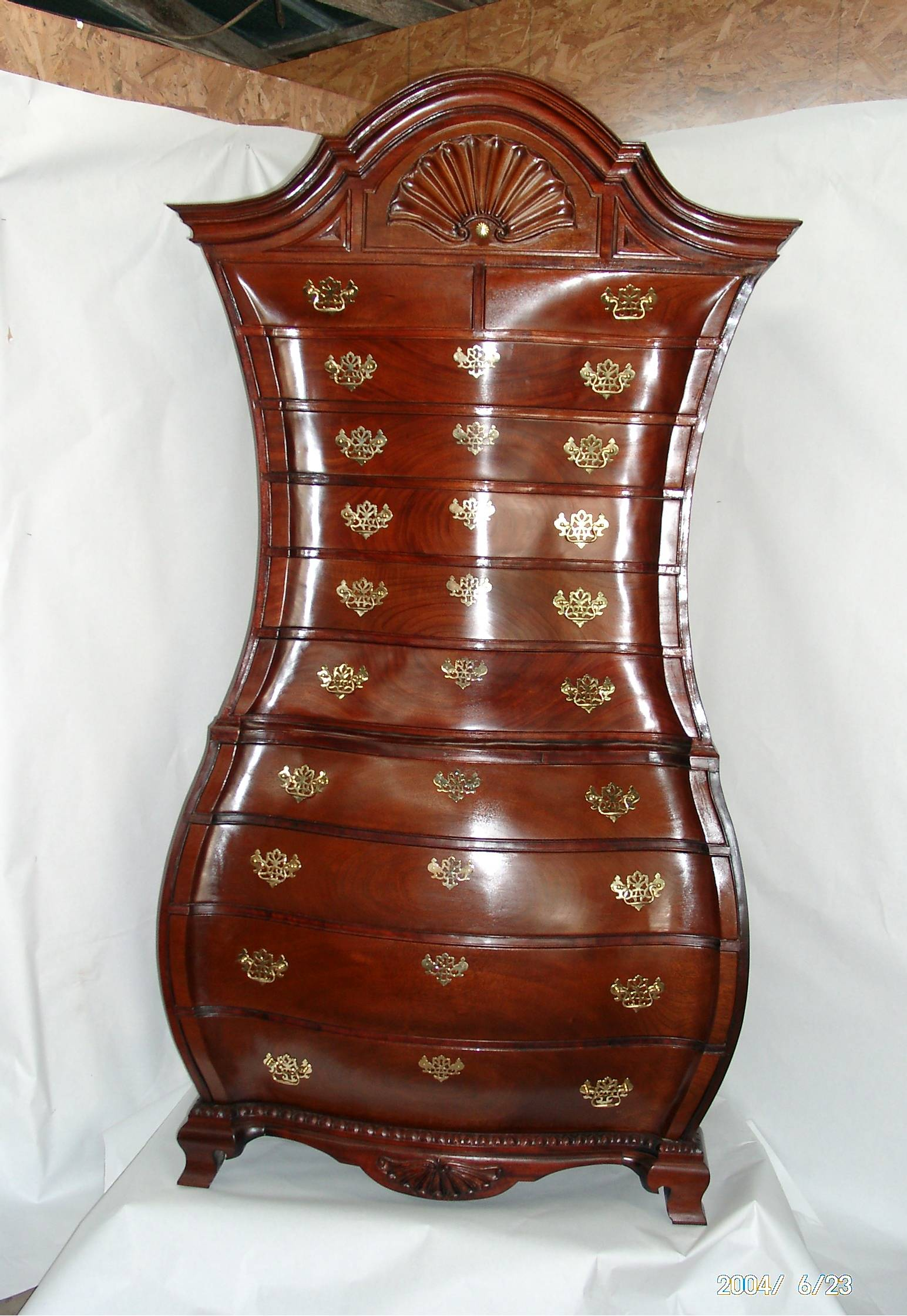 Bombe Chest. Bombe Chest. Bombe Chest. Cabriole Leg. Queen Anne Chair & Queen Anne Furniture | Furniture Refinishing Guide