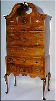 William and Mary Style Armoire