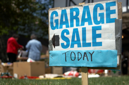Garage Sale Today!
