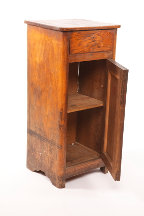 Old wooden cabinet.