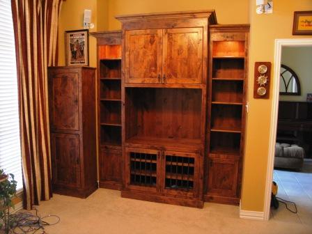 Knotty Alder Cabinets