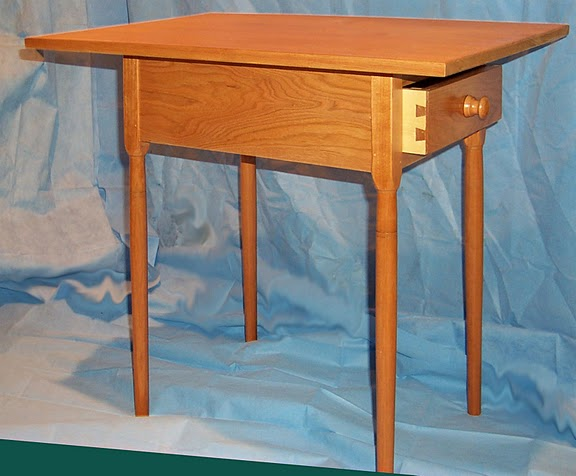 Butternut Shaker Table