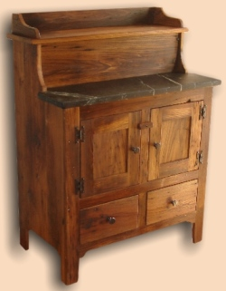 Reclaimed Chestnut Antique Chest
