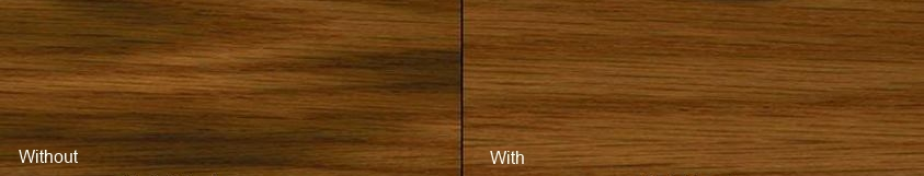 Pre-Stain Wood Conditioner- With and Without Examples