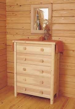 Solid Cedar Chest of Drawers